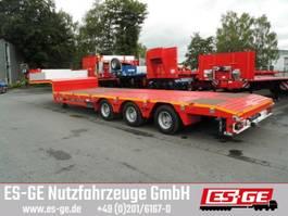 lowloader semi trailer ES-GE 3-Achs-Satteltieflader - teleskopier - 1 NLA 2018