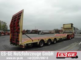 lowloader semi trailer ES-GE 3-Achs-Satteltieflader mit Megahals 2016