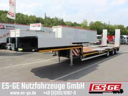 lowloader semi trailer ES-GE 3-Achs-Satteltieflader mit Radmulden 2020