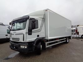 closed box truck > 7.5 t Iveco EuroCargo 190EL28 + Manual + Dhollandia Lift 2008