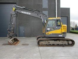 crawler excavator Volvo ECR 145 DL 2014