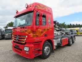 tipper truck > 7.5 t Mercedes Benz ACTROS 2558 V8 6X2 EURO 3 2005