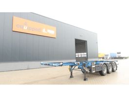 container chassis semi trailer Groenewegen 30FT ADR (EX/II, EX/III, FL, AT, OX)-chassis, BPW, ALCOA, NL-chassis 2006