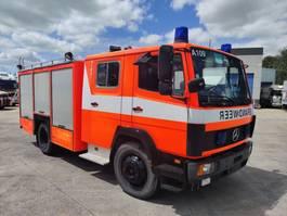 fire truck Mercedes-Benz 1124 F 4X2 Feuerwehr/ Firetruck / Pompiers - 2000L Tank - Ziegler Pump 1993