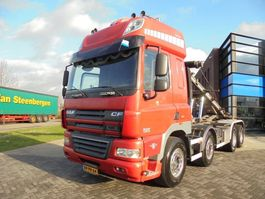 container truck DAF CF85.460 SSC / Tipper / Chassis / 8x4 / Full Steel / Manual / NL Truck 2008