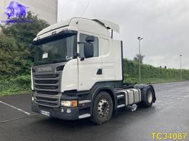 hazardous materials tractorhead Scania R 450 Euro 6 RETARDER 2015