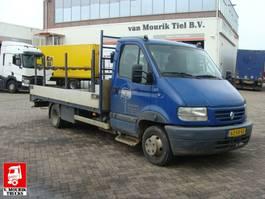 Koffer Transporter < 7.5 tonnen Renault MASCOTT 110-35 OPEN LAADBAK - 63-VX-KD 2001