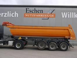 tipper semi trailer Meiller Kisa 3 Stahlmulde, Obj.-Nr.: 0270/20