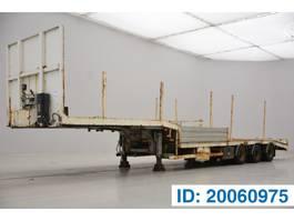 Tieflader Auflieger ASCA Low bed trailer 2003