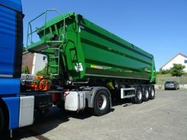 tipper semi trailer Kempf Kempf SKM 35/3 43m³ / Leasing 2013