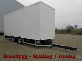 closed box trailer Wipkarren T.b.v. Stalling en Opslag