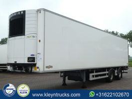 refrigerated semi trailer Chereau 2 AXLES STEER+LIFT carrier taillift 2012