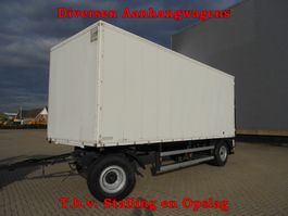 closed box trailer Vrachtwagen Aanhangwagens T.b.v. Stalling en Opslag