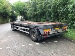 flatbed full trailer Vogelzang VA 10-10 2000