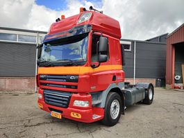 cab over engine DAF FT CF85-460 4x2 SpaceCab Ate Euro5 - Kiephydrauliek - PTO - 9000kg voor-as 2013