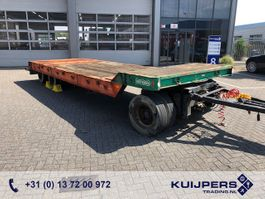 lowloader trailer Nooteboom ASD-24 / 3 axle SAF Drum / Lowloader / Dieplader / Tieflader 1986