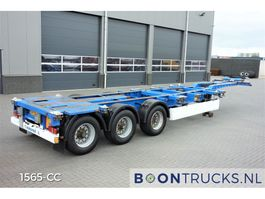 Container-Fahrgestell Auflieger Krone SD | 20-30-40-45ft HC * EXTENDABLE REAR/HEAD 2008