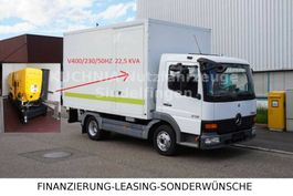 Koffer Transporter < 7.5 tonnen Mercedes Benz Atego 815 Koffer 4,15m 400/230V Stromaggregat 2004