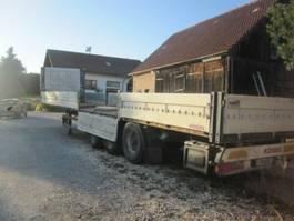 drop side semi trailer Kögel Pritsche , 100 Meter-Bordwände,Trommelbremse 2004