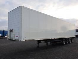 geschlossener Kasten Auflieger Schmitz Cargobull SKO 24 Trockenfrachtkoffer Ladungssicherungshienen 2004
