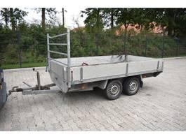 flatbed full trailer Anssems AS-2000 1999