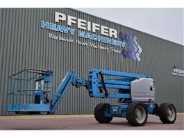 articulated boom lift wheeled Genie Z45/25JRT Diesel, 15.8m Working Height, 7.7m Reach 2006