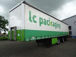 sliding curtain semi trailer HRD HRD NTS TRAILER / WIDESRPEAD STEERING / CURTAIN SIDE / 2006 2006