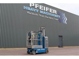 articulated boom lift wheeled Genie GR-20 Electric, 8.08m Working Height, Non Marking 2006