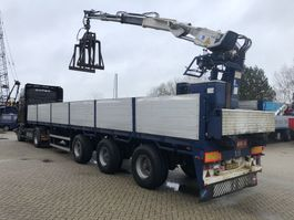 flatbed semi trailer Floor Steenoplegger + Kennis R 20,000 2000