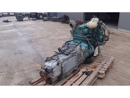 Engine truck part Volvo FL 10 - 360 (engine with manual pump and with gearbox) 1992
