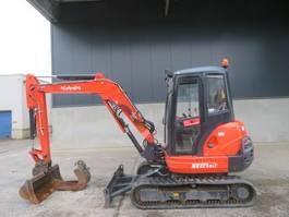 mini digger crawler Kubota KX 121-3 A 2015