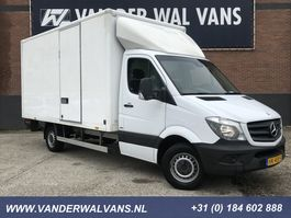 closed box lcv < 7.5 t Mercedes Benz Sprinter 313CDI 432 Bakwagen + Laadklep Airco, camera, zijdeur, spoiler 2014