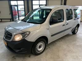 minivan - passenger coach car Mercedes Benz CITAN maxi 7 persoons airco 2016