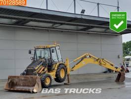 backhoe loader Caterpillar 428C 1999