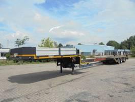lowloader semi trailer Broshuis E 2190 24 BS 1994