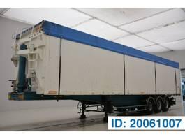 tipper semi trailer Benalu 86 cub in alu* 1999