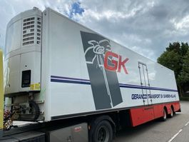 refrigerated semi trailer Draco TZA 232 - 2 AS + THERMOKING 2005