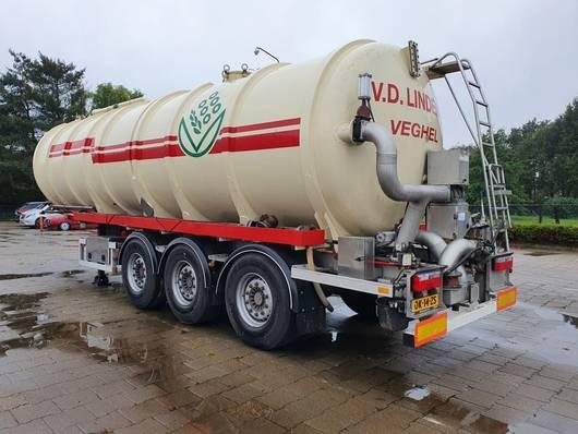 Tankauflieger Auflieger Van Hool van Hool 36m3  2010  RVS 3.16