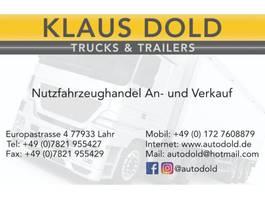 closed box semi trailer Krone SD Koffer Portaltüren SAF-Achsen Ladebordwand 2013
