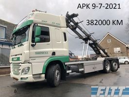 container truck DAF FAN CF 400 6x2 HTS container systeem 2015