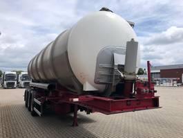 tank semi trailer semi trailer Lag LAG 32000 liter Kiep -tankoplegger met pomp\  Gulle \ tierfutter \ slib ... 1999