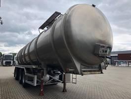 Tankauflieger Auflieger Vocol VOCOL 36000 liter tankoplegger met pomp\ mest \ Gulle \ tierfutter \ sli... 1995