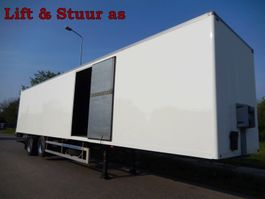 closed box semi trailer Fruehauf ONCRK 32-220 A 2 As Oplegger Gesloten, OG-91-VN 2002