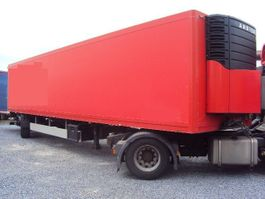 refrigerated semi trailer Ackermann 1 achs City Kühl 11 m Lenk Carrier Diesel LBW 2 2009