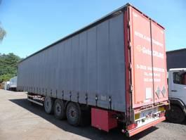 sliding curtain semi trailer Lag Oplegger 3-asser