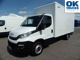 closed box truck > 7.5 t Iveco 35S14A8/P Koffer / LBW / EURO 6 2017