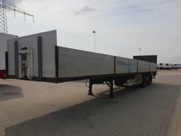 flatbed semi trailer Fliegl SZS 350 Taillift 2500 Kg 2010