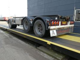 container chassis trailer Bulthuis AT 28 F 1996