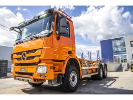 container truck Mercedes Benz ACTROS 3336 K-MP3 2010