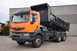 tipper truck > 7.5 t Renault KERAX 450 DXI 6X4 TIPPER - KIPPER 2007